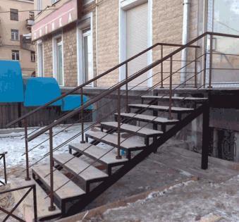 Уличная лестница №1