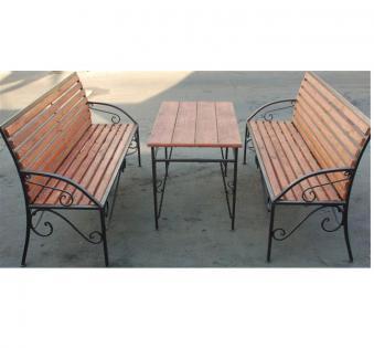 Кованые скамейки и мебель №57