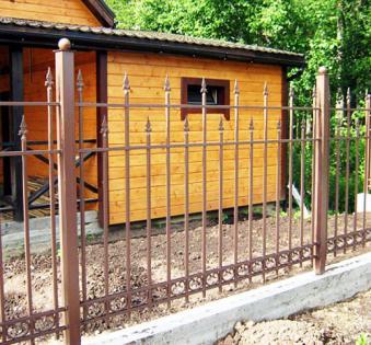 Кованый забор №96