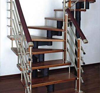 Интерьерная лестница №10