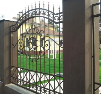 Кованый забор №50