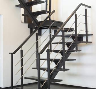 Интерьерная лестница №11