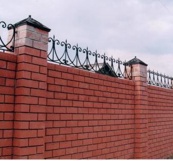 Кованый забор №12
