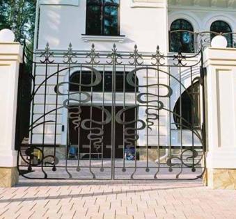Кованые ворота №12