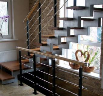 Интерьерная лестница №12