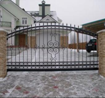 Уличные ворота №13