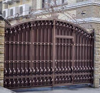 Кованые ворота №13