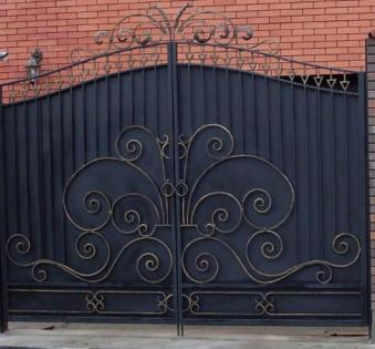 Кованые ворота №14