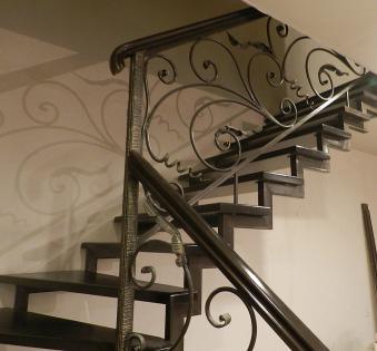 Интерьерная лестница №14