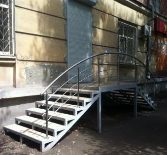 Уличная лестница №14