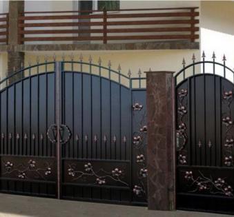 Кованые ворота №15