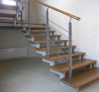 Интерьерная лестница №15