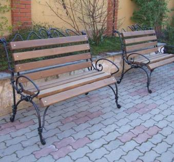 Кованые скамейки и мебель №53