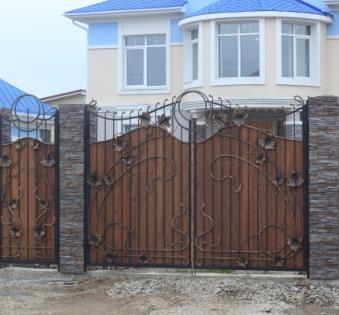 Кованые ворота №16