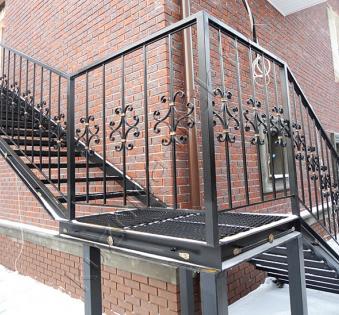 Уличная лестница №16