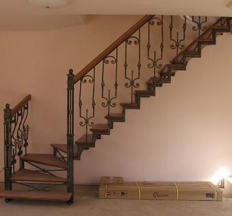 Интерьерная лестница №16