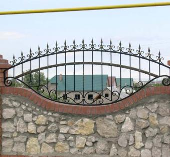 Кованый забор №17
