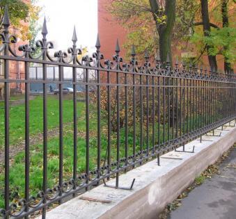 Кованый забор №54