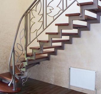 Интерьерная лестница №17