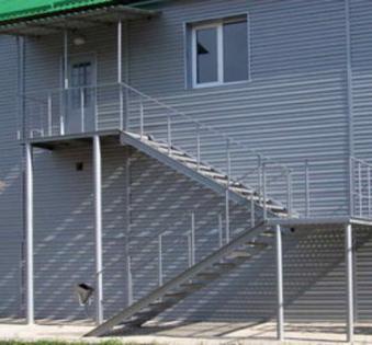 Уличная лестница №18