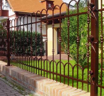 Кованый забор №56