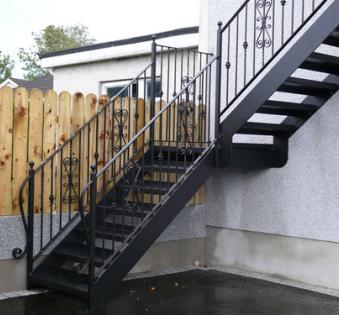 Уличная лестница №19