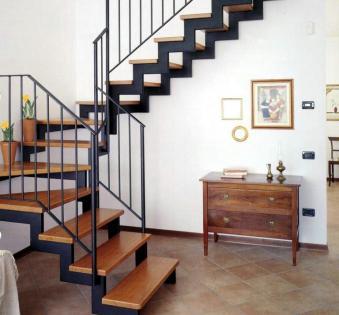 Интерьерная лестница №1