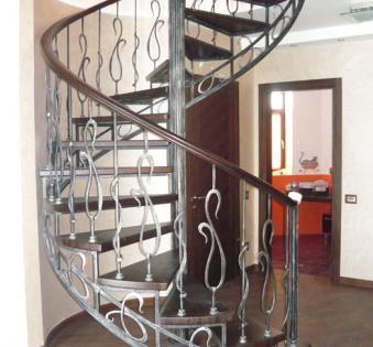 Интерьерная лестница №20