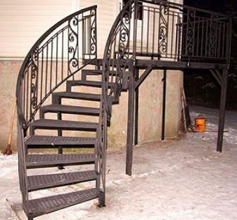 Уличная лестница №20