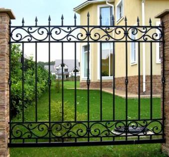 Кованый забор №21