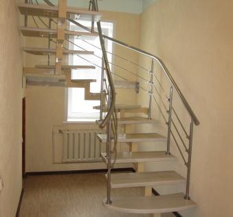 Интерьерная лестница №22