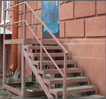 Уличная лестница №23