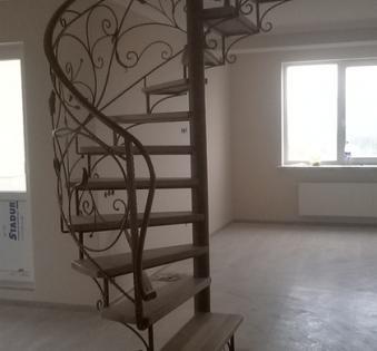 Интерьерная лестница №23