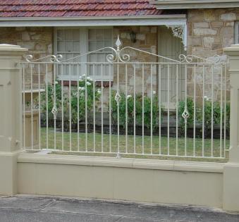 Кованый забор №60