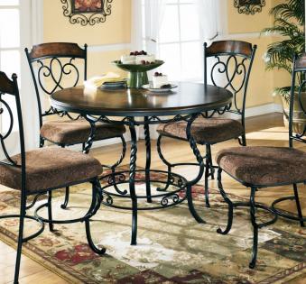 Кованые скамейки и мебель №20