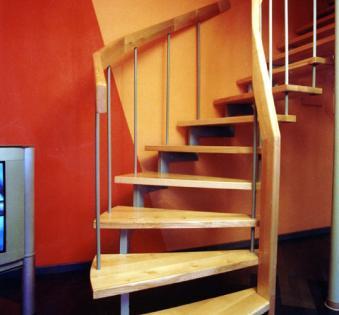 Интерьерная лестница №24