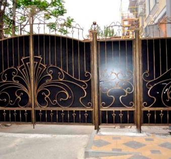 Кованые ворота №25
