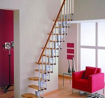 Интерьерная лестница №25