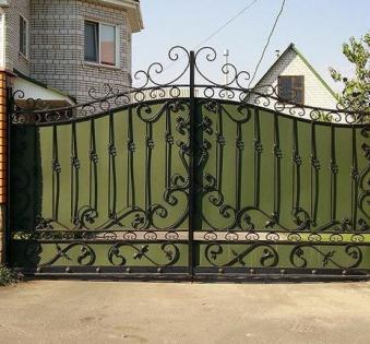 Кованые ворота №26