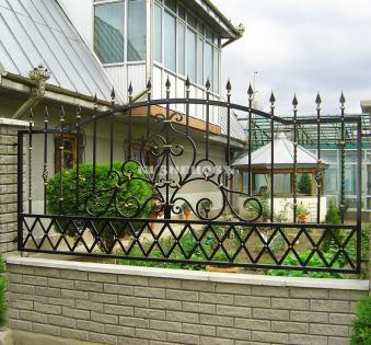 Кованый забор №62