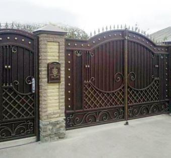 Кованые ворота №28