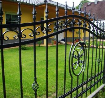 Кованый забор №64
