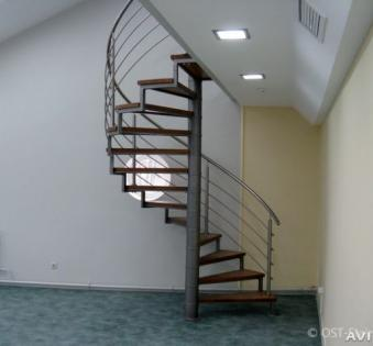 Интерьерная лестница №28