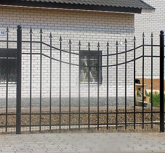 Кованый забор №29