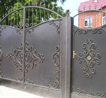 Кованые ворота №29