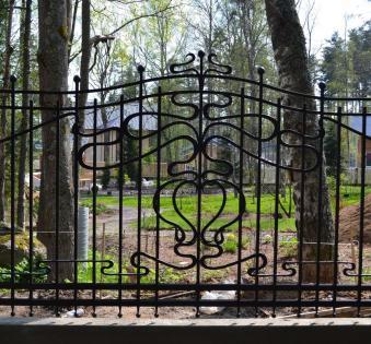 Кованый забор №65