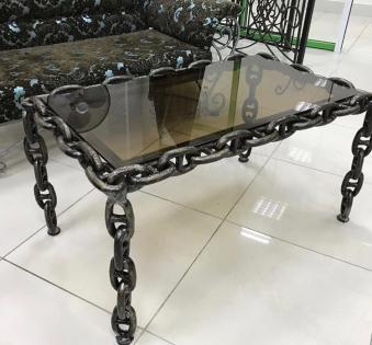 Кованые скамейки и мебель №26