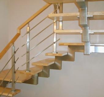 Интерьерная лестница №29