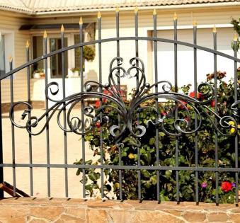 Кованый забор №42