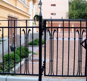 Кованый забор №41